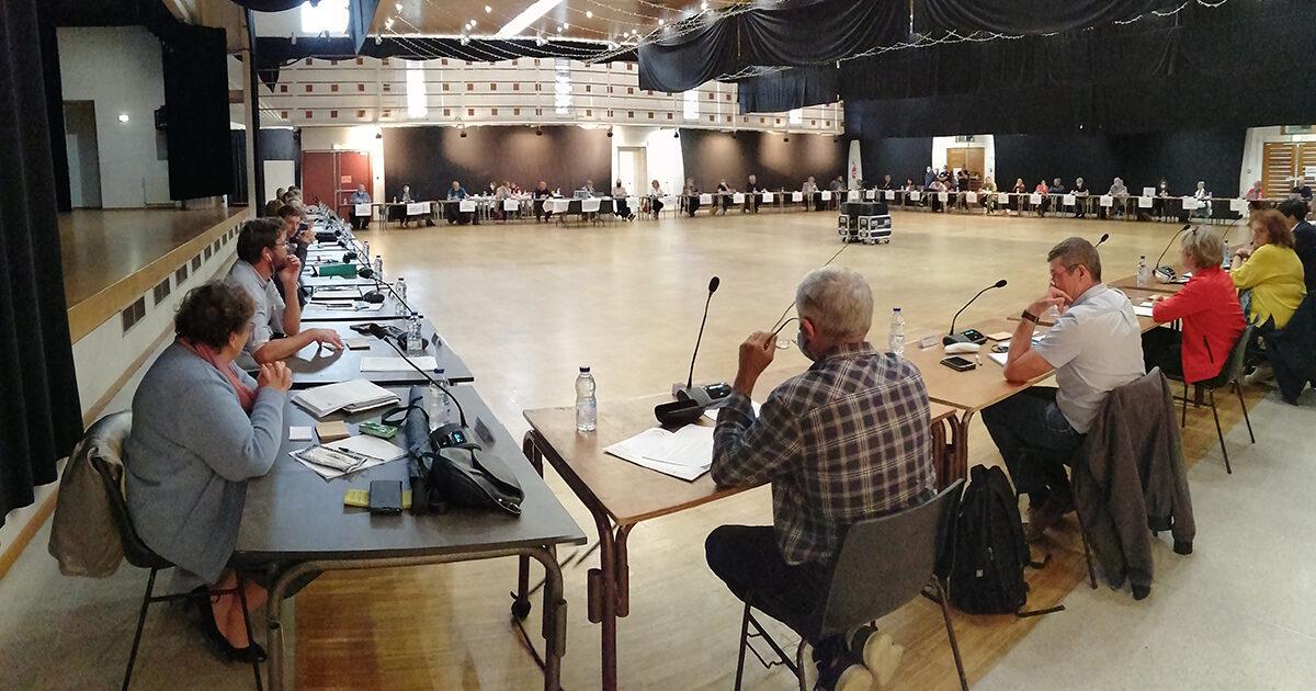 Conseil communautaire hauts tolosans 2020